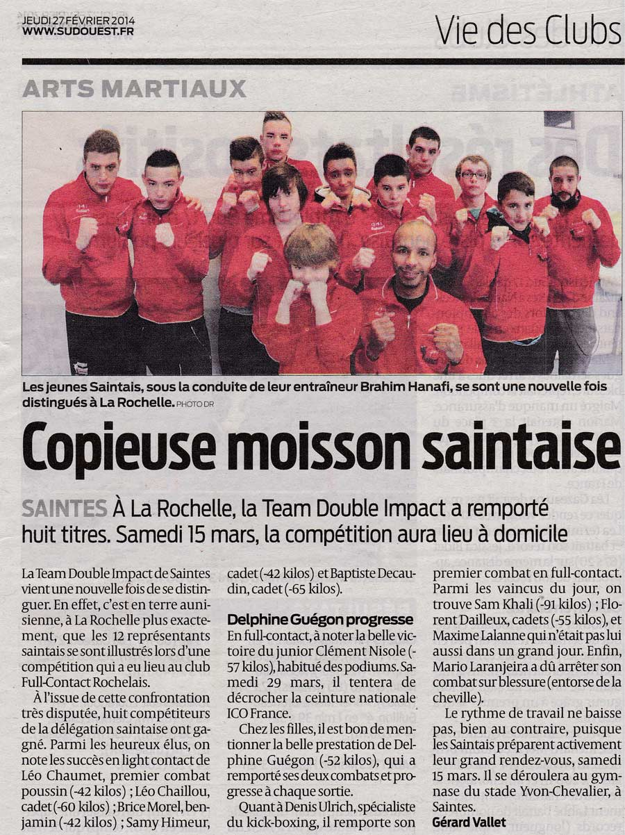 Copieuse moisson saintaise - Sud Ouest