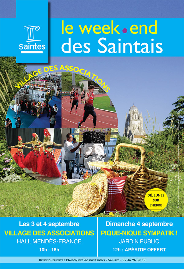 Village des associations - Saintes